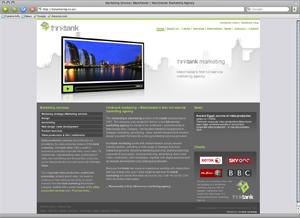 , 2009 marketing agency   new website launch